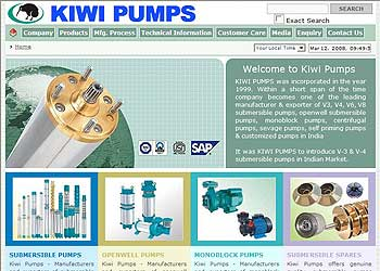 Visit KiwiPumps Main Website